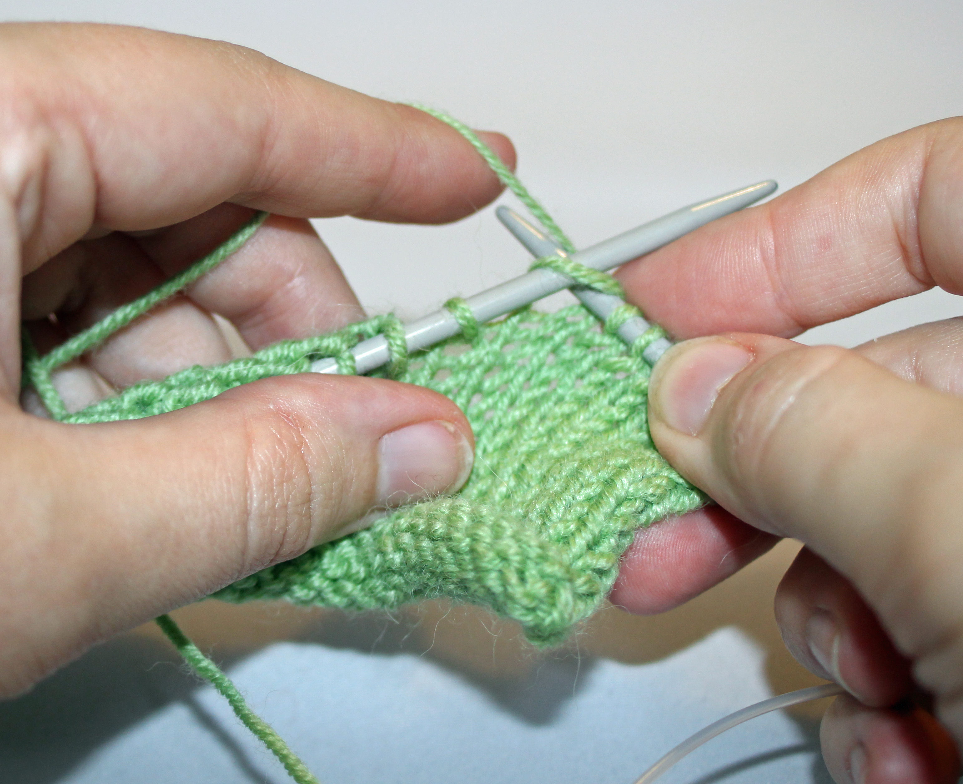 Knitting Techniques Continental : Your knitting tips