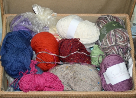It is easy for your stash to become disorganised over time