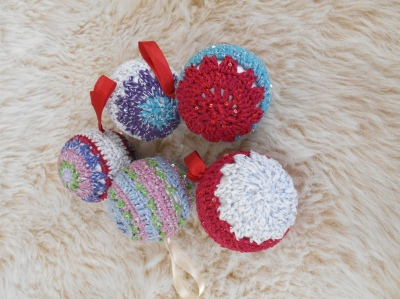 crochet christmas decoration 2