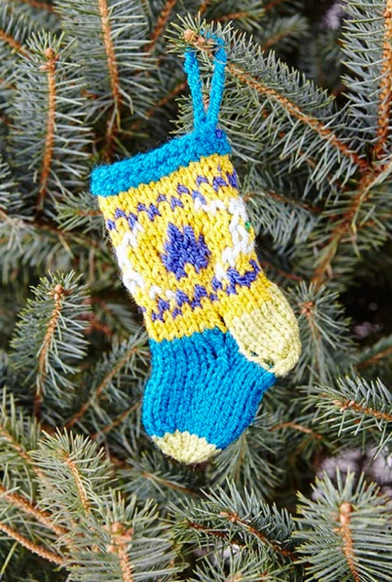 xmas stocking style craft