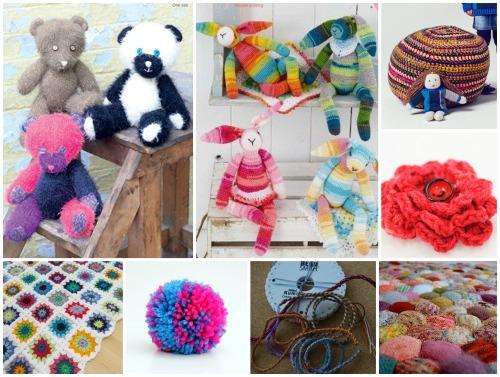 Teddy bear pattern by ;