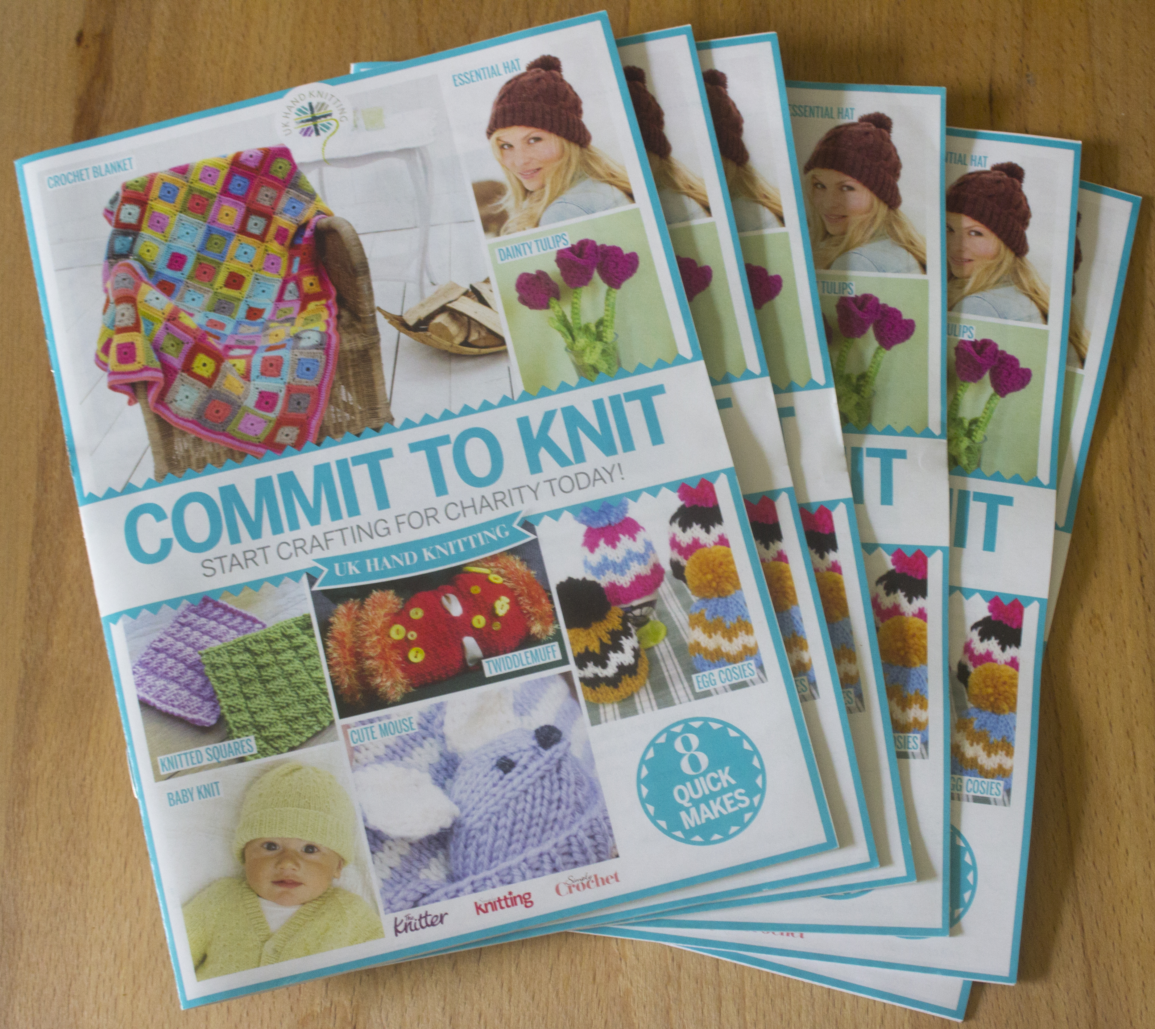 Why we like to knit for charity