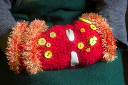 Click here to find out more about this year's Commit to Knit patterns including the Twiddlemuff