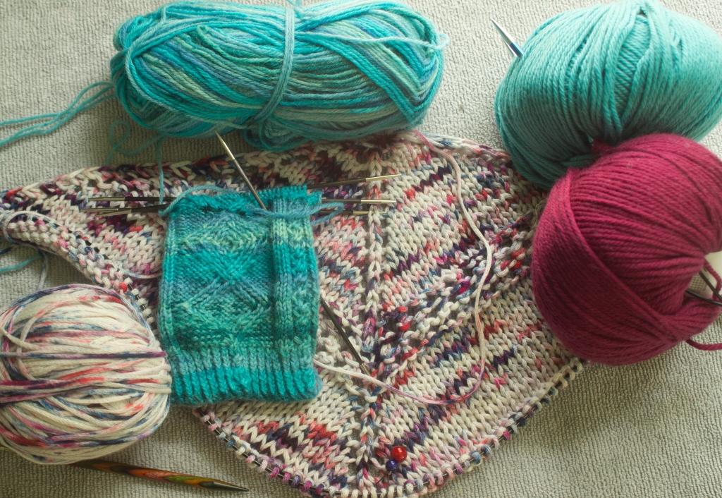 holiday knitting