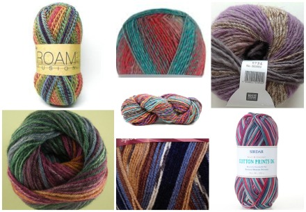 variegated yarns