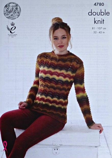 vintage stripe knitwear