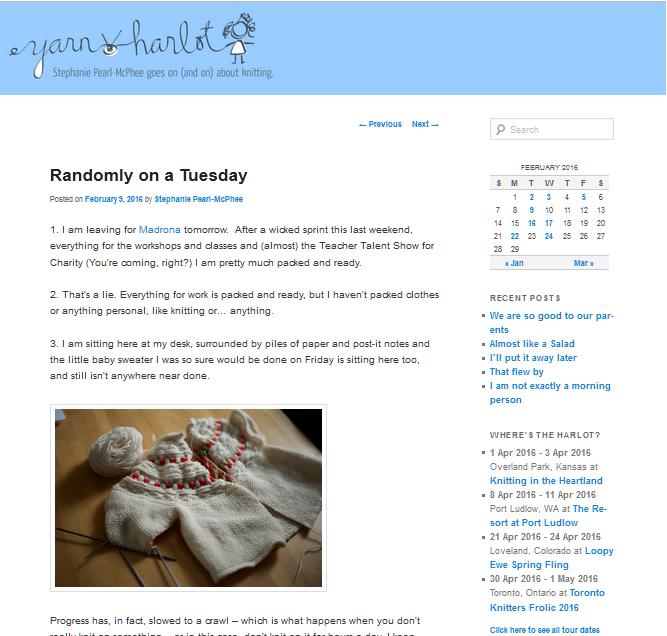 knitting blogs