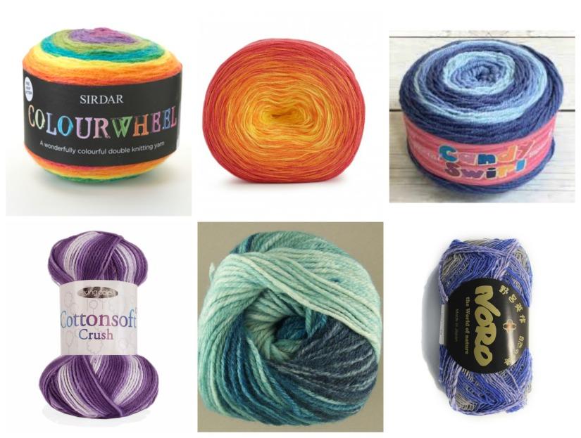 striping yarns