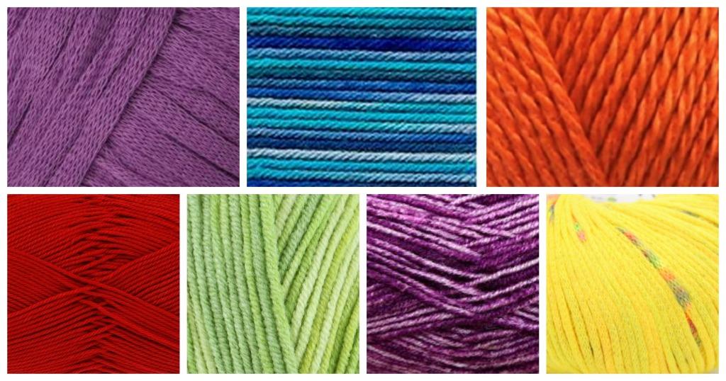 summer knitting yarns