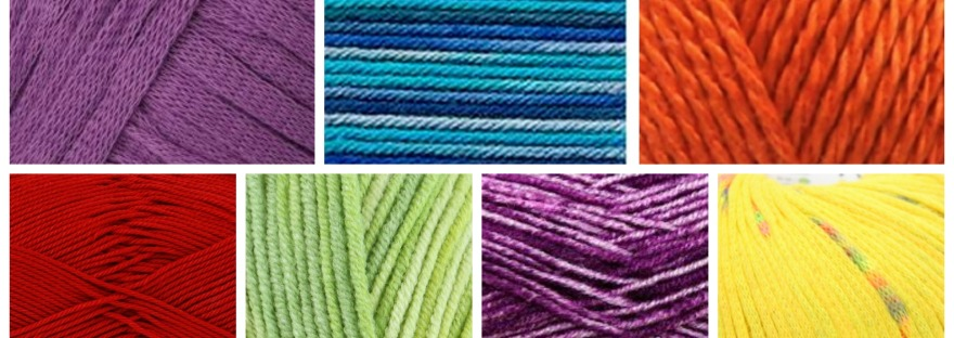 summer knitting yarns