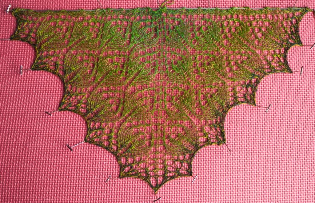 lace blocking