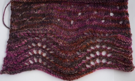 steam blocked swatch