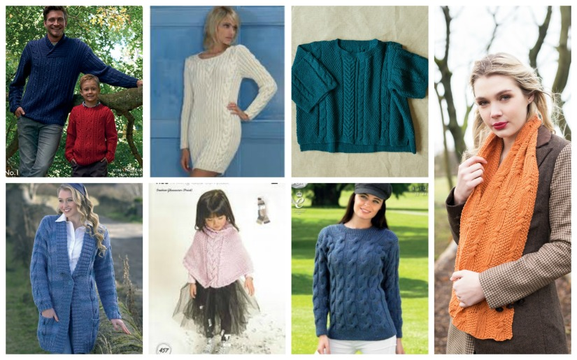 cable fashion knits