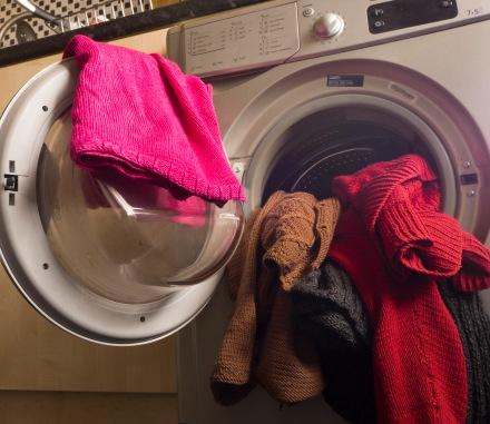 machine washing hand knits