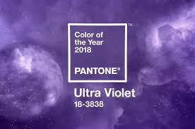 ultraviolet pantone colour of 2018